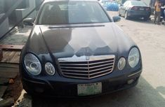 Nigeria Used Mercedes-Benz E280 2006 Model Black