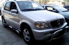 Nigeria Used Mercedes-Benz ML 320 2002 Model Silver
