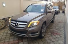 Foreign Used Mercedes-Benz GLK 2013 Model Brown