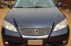 Foreign Used Lexus ES 2008 Model Blue
