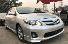 Foreign Used Toyota Corolla 2011 Model Silver