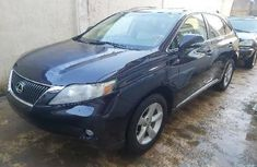 Foreign Used Lexus RX 2011 Model Blue