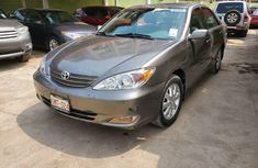 Foreign Used Toyota Camry 2002 Model Gray