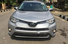 Foreign Used Toyota RAV4 2016 Model Silver