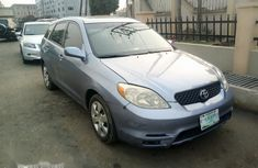 Nigeria Used Toyota Matrix 2004 Model Blue