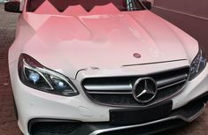Foreign Used 2013 White Mercedes-Benz E350 for sale in Lagos