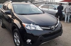 Foreign Used Toyota RAV4 2014 Model Black