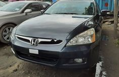 Foreign Used Honda Accord 2007 Model Black