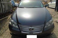 Nigeria Used Lexus ES 2011 Model Black