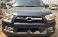 Foreign Used Toyota 4-Runner 2012 Model Black