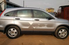 Foreign Used Honda CR-V 2008 Model Silver