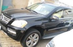 Nigeria Used Mercedes-Benz GL-Class 2012 Model Black