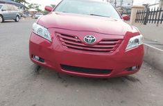 Foreign Used Toyota Camry 2008 Model Red