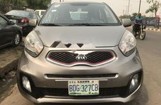Foreign Used Kia Picanto 2014 Model Silver