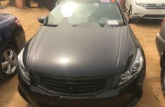 Foreign Used Honda Accord 2008 Model Black