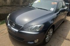 Foreign Used Lexus IS250 2008 Model Gray for Sale