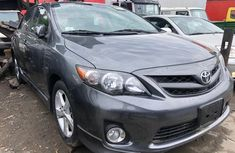 Foreign Used Toyota Corolla 2012 Model Gray for Sale