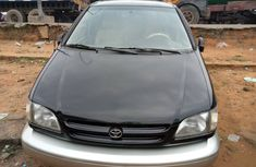 Foreign Used Toyota Sienna 2001 Model Black