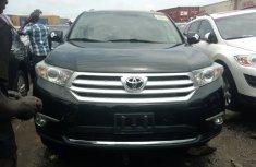 Foreign Used Toyota Highlander 2011 Model Black for Sale