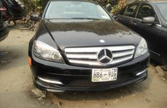 Foreign Used Mercedes Benz C300 2008 Model Black