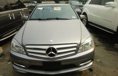 Foreign Used Mercedes Benz C300 2009 Model Silver