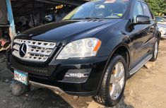 Foreign Used Mercedes Benz ML350 2008 Model Black