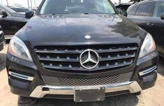 Foreign Used Mercedes Benz ML350 2013 Model Black