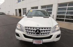 Foreign Used Mercedes Benz ML350 2010 Model White