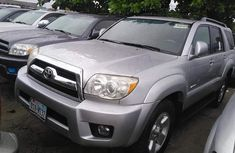 Foreign Used Toyota 4Runner 2008 Model Silver for Sale