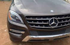 Foreign Used Mercedes Benz ML350 2014 Model Brown
