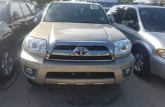 Foreign Used Toyota 4Runner 2007 Model Gold for Sale