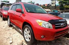 Foreign Used Toyota RAV4 2008 Model Red for Sale