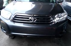 Foreign Used Toyota Highlander 2009 Model Gray for Sale