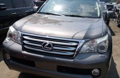 Foreign Used Lexus GX 460 2012 Model Gray for Sale