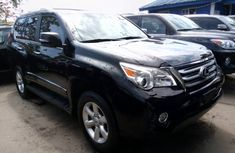 Foreign Used Lexus GX460 2011 Model Black for Sale