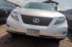 Foreign Used Lexus RX 350 2011 Model Silver for Sale