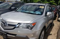 Foreign Used Acura MDX 2008 Model Silver for Sale