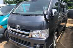 Foreign Used Toyota Hiace Bus 2010 Model Gray for Sale