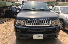 Nigeria Used Range Rover Sport 2006 Model Black