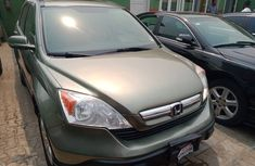 Foreign Used Honda CRV 2008 Model Green for Sale