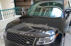 Tokunbo Rover Range Rover Vogue 2019 Model Black