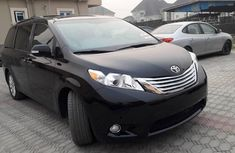Foreign Used Toyota Sienna 2013 Model Black