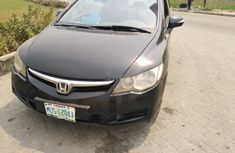 Nigeria Used Honda Civic 20007 Model Black