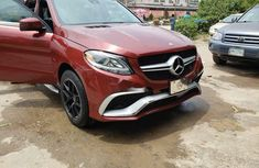 Nigeria Used Mercedes-Benz ML350 2013 Model Red