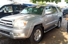 Foreign Used Toyota 4-Runner 2005 Model Silver
