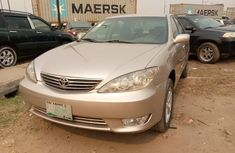Nigeria Used Toyota Camry 2005 Model Gold