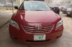Nigeria Used Toyota Camry 2007 Model Red