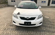 Foreign Used Toyota Corolla 2008 Model White
