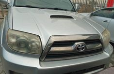 Foreign Used Toyota 4-Runner 2006 Model Silver