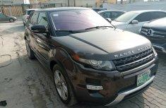 Nigeria Used Land Rover Range Rover Evoque 2013 Model Gray